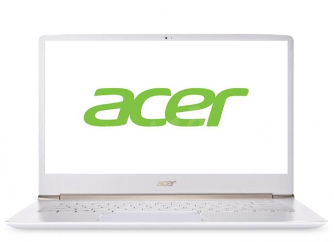 Acer Swift 5 Pearl White celokovový