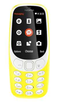 Nokia 3310 2G Single SIM žlutý