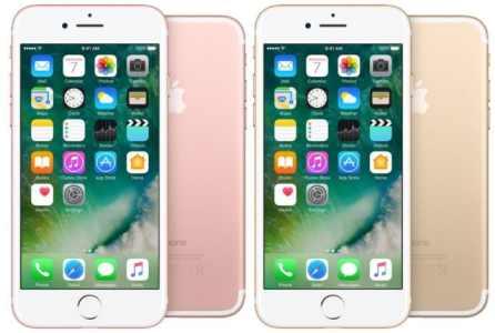 Apple iPhone 7 32GB růžově zlatý