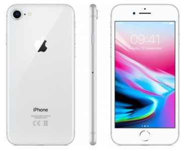 Apple iPhone 8 256GB stříbrný