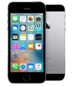 Apple iPhone SE 32GB vesmírně šedý
