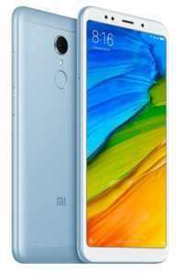 Xiaomi Redmi 5 32 GB Dual SIM LTE modrá