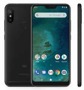 Xiaomi Mi A2 Lite 3GB 32GB LTE Černý