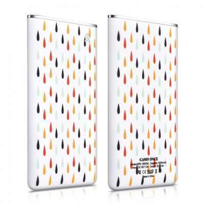 ICARER ultra-tenká powerbanka 5000mAh pro Apple iPhone - barevné kapky