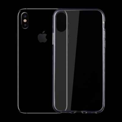 Plastový ultra tenký kryt pro iPhone XS / iPhone X - 0.75mm