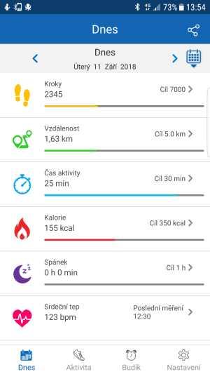 Šikovná aplikace a úložiště
