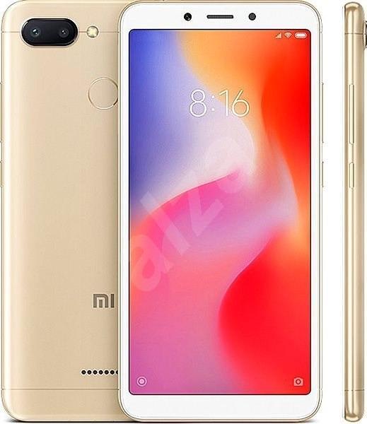 Xiaomi Redmi 6 32GB LTE Zlatý