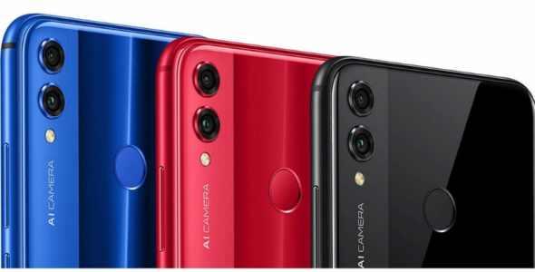 Honor 8X 3GB 64GB Červená