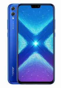 Honor 8X 4GB 64GB modrá