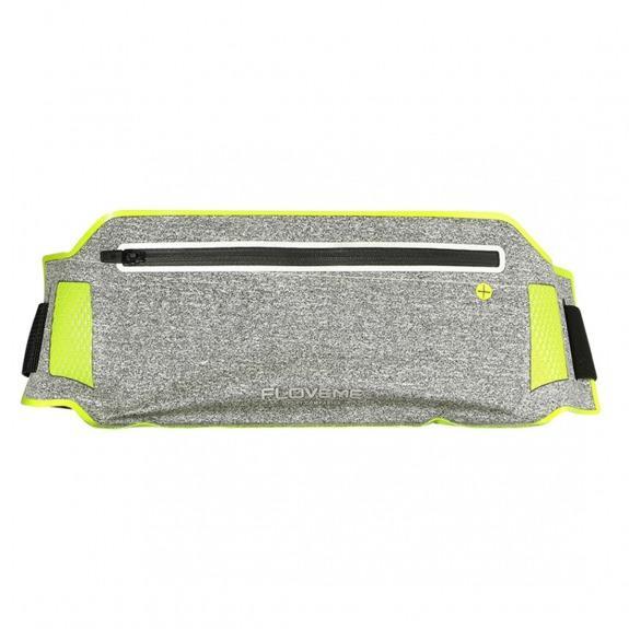 FLOVEME sportovní opasek s kapsou pro Apple iPhone - zelený