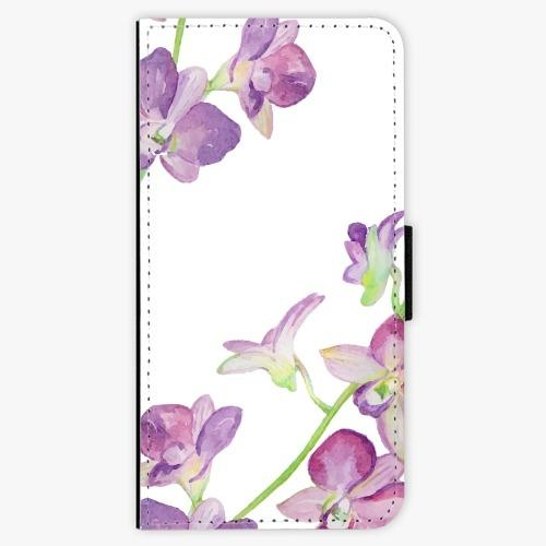 Flipové pouzdro iSaprio - Purple Orchid - Huawei Nova 3i