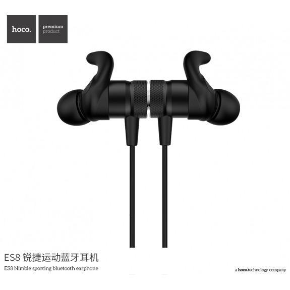 HOCO sportovní bezdrátová Bluetooth sluchátka pro Apple iPhone - černá