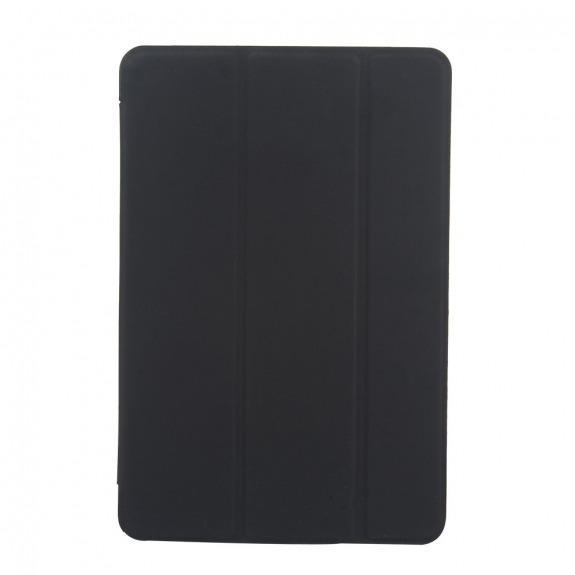 """Hladké Smart pouzdro / obal s funkcí uspání a stojánkem pro Apple iPad 9.7"""" (2017) / iPad 2018 / iPad Air - černé"""