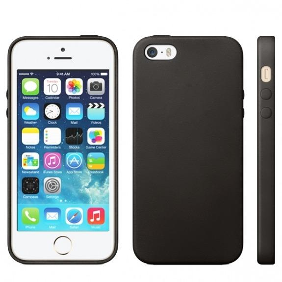 Kryt v originálním Apple designu pro iPhone 5 / 5S / SE - černý