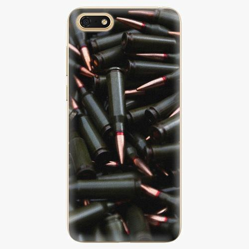 Plastový kryt iSaprio - Black Bullet - Huawei Honor 7S