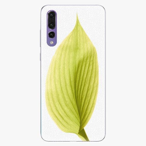 Plastový kryt iSaprio - Green Leaf - Huawei P20 Pro