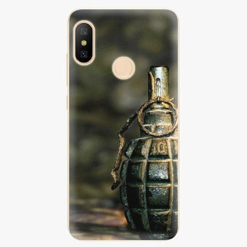 Plastový kryt iSaprio - Grenade - Xiaomi Mi A2 Lite