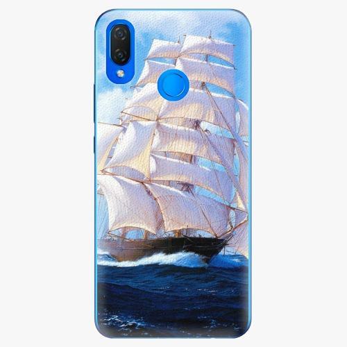Plastový kryt iSaprio - Sailing Boat - Huawei Nova 3i