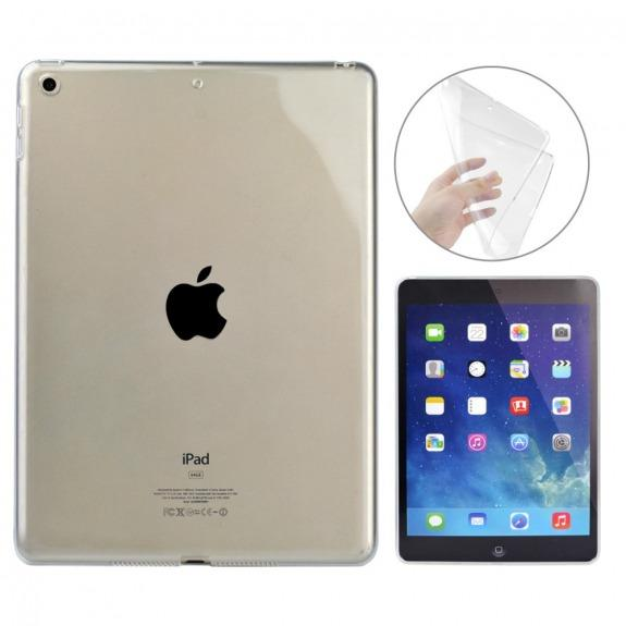 "Průhledné silikonové pouzdro / kryt pro Apple iPad 9.7"" (2017) / iPad 2018 / iPad Air"