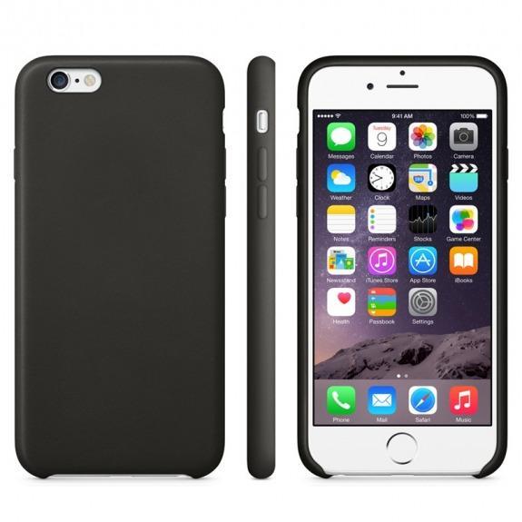 Protiskluzový matný obal pro Apple iPhone 6 / 6S - černý