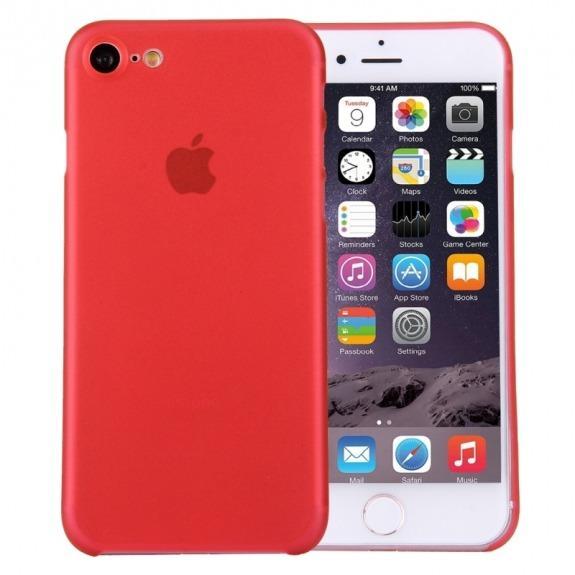 Super lehký tenký kryt na Apple iPhone 8 / 7 - červený