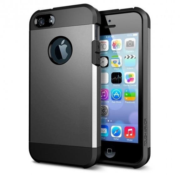 """Super odolný """"Armor"""" kryt pro iPhone 5 / 5S / SE - šedý"""