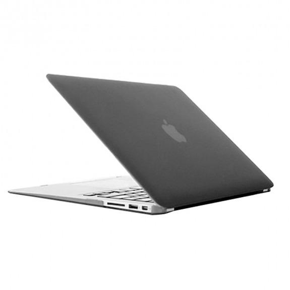 """Tvrzený ochranný plastový obal / kryt pro MacBook Air 13"""" (model A1369 / A1466) - šedý"""