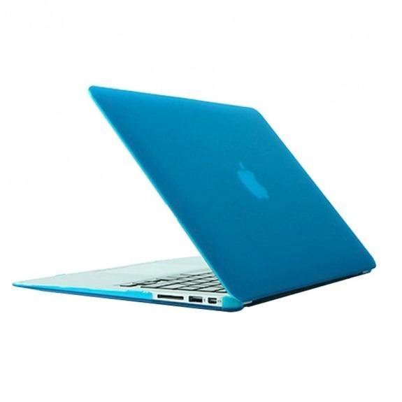 "Tvrzený ochranný plastový obal / kryt pro MacBook Air 13"" (model A1369 / A1466) - nebesky modrý"