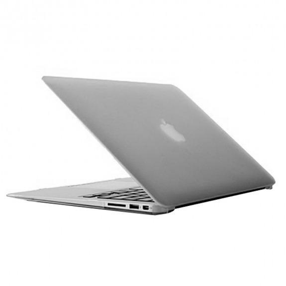 "Tvrzený ochranný plastový obal / kryt pro MacBook Air 13"" (model A1369 / A1466) - průhledný"