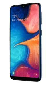 Samsung Galaxy A20e A202F Dual SIM modrá