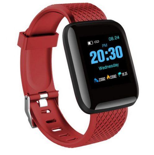 Smartuj Fitness náramek DT 13- 5 barev SMW52 Barva: Červená