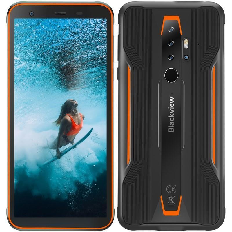 iGET BLACKVIEW GBV6300 Pro černý/oranžový